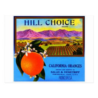 Vintage Fruit Crate Label Postcards