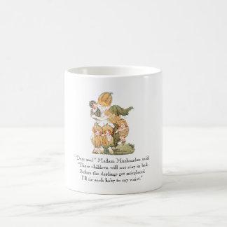 Vintage Fruit Rhyme Muskmelon Cantaloupe Melon Coffee Mug