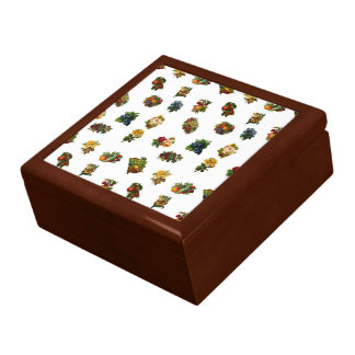 Vintage Fruits & Flowers Gift Box