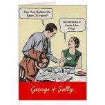 Vintage Fun Couple Cards Happy Anniversary