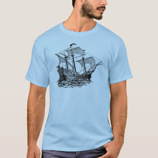 Vintage Galleon Ship T-Shirt