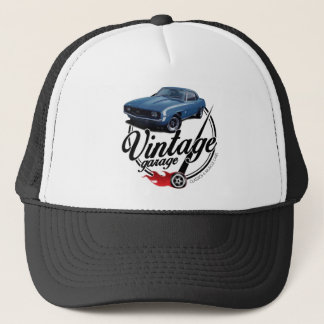 Vintage Garage Camaro Trucker Hat