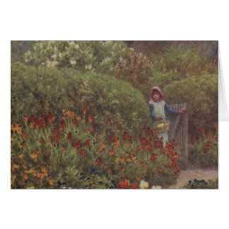 Vintage Garden Art - Allingham, Helen Card