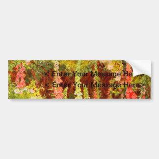 Vintage Garden Art - Elgood, George S. Bumper Stickers