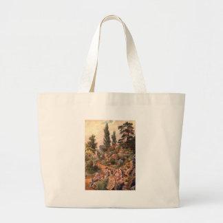 Vintage Garden Art - Martin Thomas Mower Tote Bags