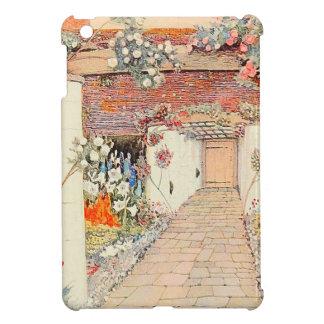 Vintage Garden Art - Proposal House iPad Mini Covers