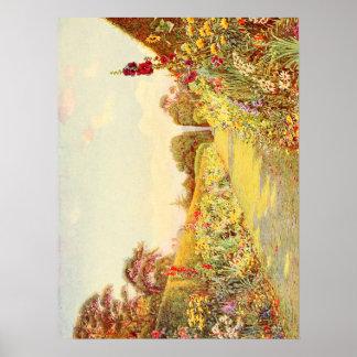 Vintage Garden Art - Rowe, Ernest A. Poster