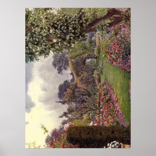 Vintage Garden Art - Rowe, Ernest A. Print