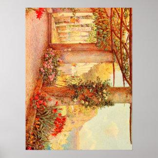 Vintage Garden Art - Rowe, Ernest A. Posters