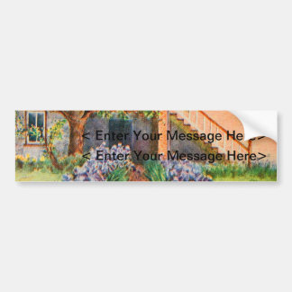 Vintage Garden Art - Steele, Zulma deL. Bumper Sticker