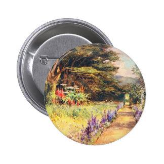 Vintage Garden Art - Wilson, Mary G.W. 6 Cm Round Badge