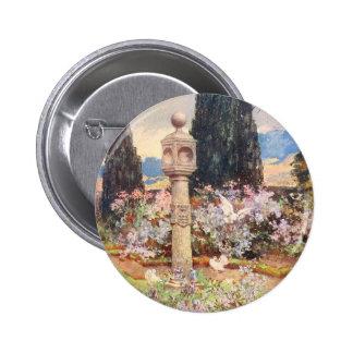 Vintage Garden Art - Wilson, Mary GW 6 Cm Round Badge