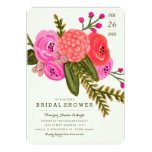 Vintage Garden Bridal Shower 13 Cm X 18 Cm Invitation Card