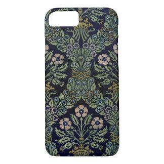Vintage Garden Flower Wallpaper Pattern, Floral iPhone 8/7 Case