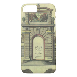 Vintage Garden Gate Arch, Renaissance Architecture iPhone 7 Case