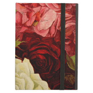 Vintage Garden Rose Flowers, Love and Romance iPad Air Cases