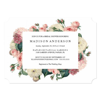 Floral Bridal Shower Invitations was luxury invitations layout
