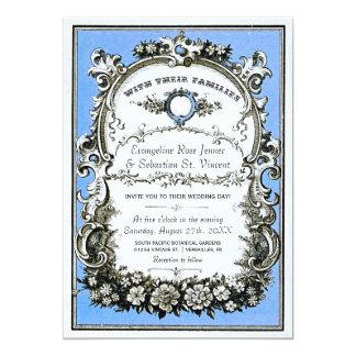 Vintage Garden Wedding Invitations