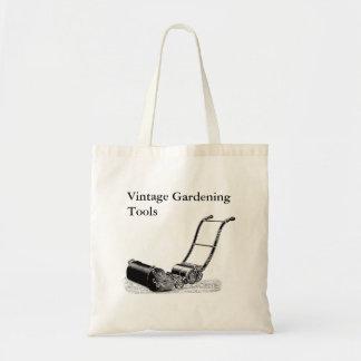 Vintage Gardening Tools Customizable Tote Bag