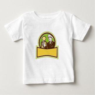 Vintage Gas Attendant Retro Baby T-Shirt