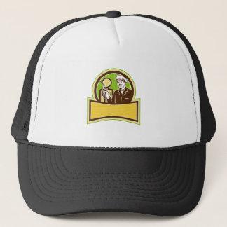 Vintage Gas Attendant Retro Trucker Hat