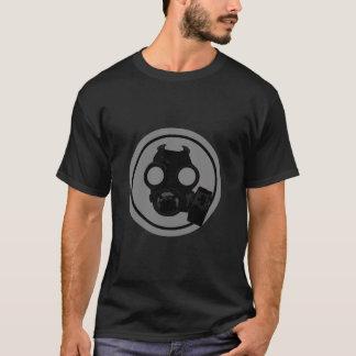 Vintage Gasmask in circle design T-Shirt
