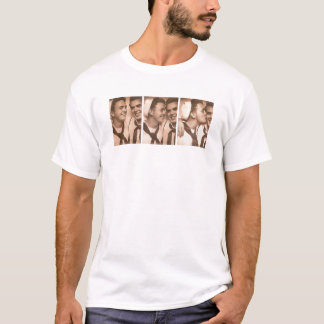 Vintage Gay Men Sailors Kiss Navy DADT T-Shirt