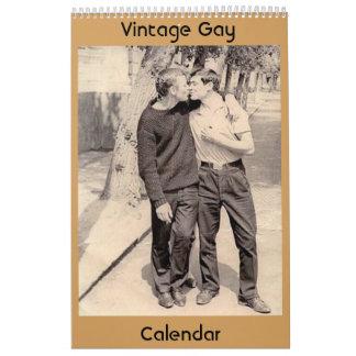 Vintage Gays Calendar