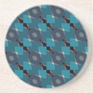 Vintage Geometric pattern Coasters