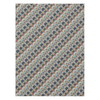 Vintage Geometric Pattern Tablecloth