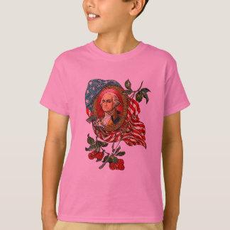 Vintage George Washington Art on Tshirts