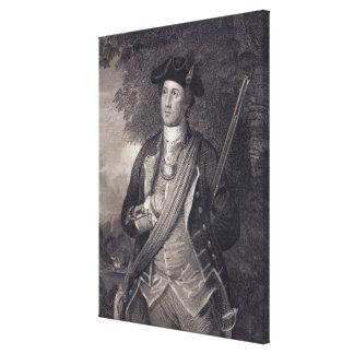 Vintage George Washington Portrait Canvas Print