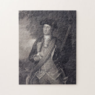 Vintage George Washington Portrait Jigsaw Puzzle