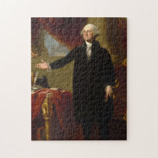 Vintage George Washington Portrait Painting 2 Jigsaw Puzzle