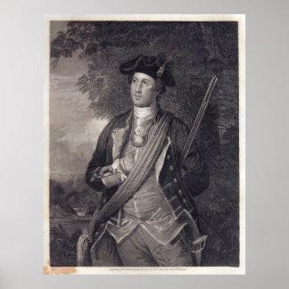 Vintage George Washington Portrait Poster