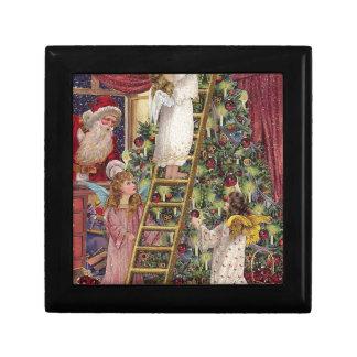 Vintage German Angels Christmas Victorian Art Gift Box