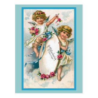 """Vintage German Birthday Card"" Postcard"