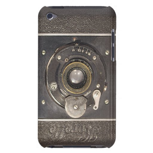 Vintage German Folding Camera iPod Touch Case-Mate