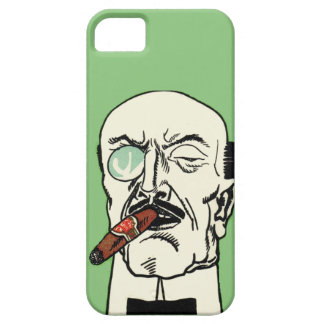 Vintage German Gentleman with Cigar and Monocle Case For The iPhone 5