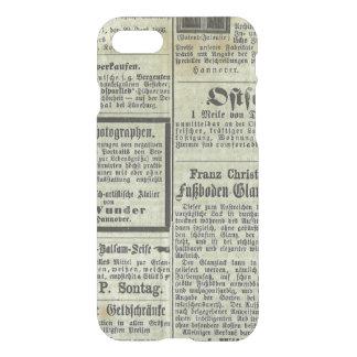 Vintage German newspaper case