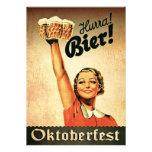 Vintage German Oktoberfest Custom Invitation