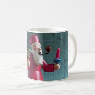Vintage German Rauchermaennchen Santa Claus Coffee Mug