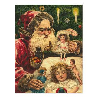 Vintage German Santa Postcard