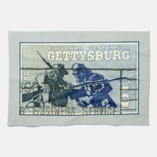Vintage Gettysburg Tea Towel