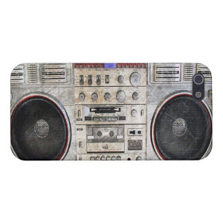 Vintage ghetto blaster iPhone 5 case