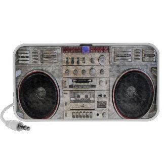 vintage ghetto blaster mp3 speaker