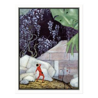 Vintage Giant by Virginia Frances Sterrett Postcard