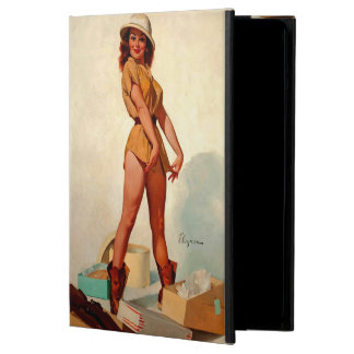 Vintage Gil Elvgren Hunter Pin up Girl iPad Air Cover