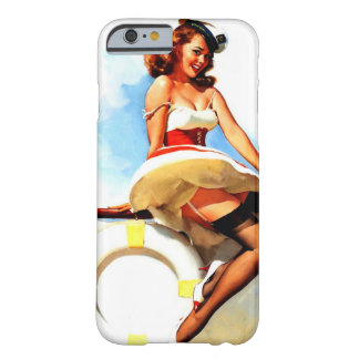 Vintage Gil Elvgren Sailor Nautical Pin up Girl Barely There iPhone 6 Case