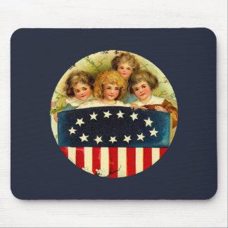 Vintage Girls Mousepad